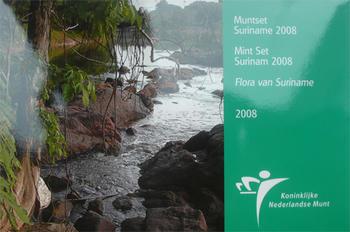 Mintset Surinam 391 Cent 2008 B.U. Cu/Ni - 1