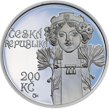 Mince ČNB - 2012 b.k. - 200 Kč  Postaven Obecní dům v Praze - 1