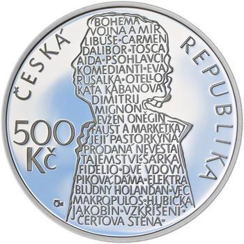 Mince ČNB - 2013 Proof - 500 Kč Beno Blachut - 1