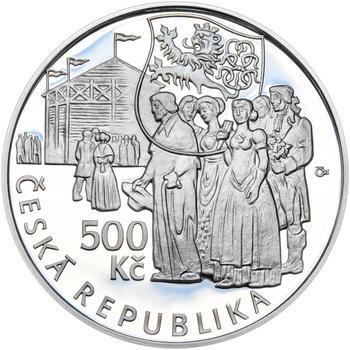 Mince ČNB - 2015 Proof - 500 Kč Václav Thám - 1