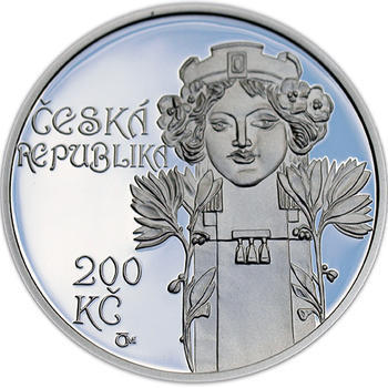 Mince ČNB - 2012 Proof - 200 Kč Postaven Obecní dům v Praze - 1