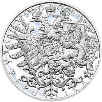 Mince ČNB - 2017 b.k. - 500 Kč Bitva u Zborova - 1