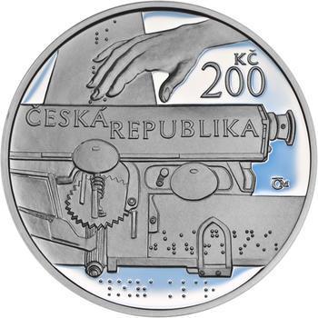 Mince ČNB - 2013 Proof - 200 Kč Aloys Klar - 1
