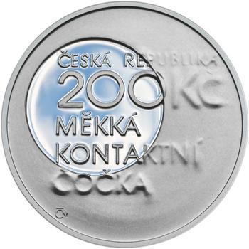 Mince ČNB - 2013 Proof - 200 Kč Otto Wichterle - 1
