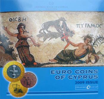 2009 Cyprus Mint Set Unc. - 1