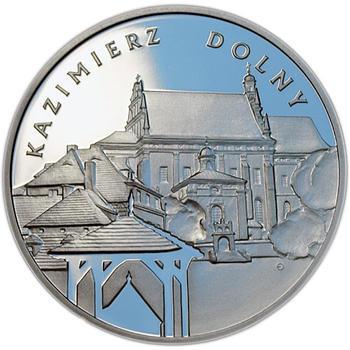 2008 City Kazimierz Dolny Ag Proof - 1