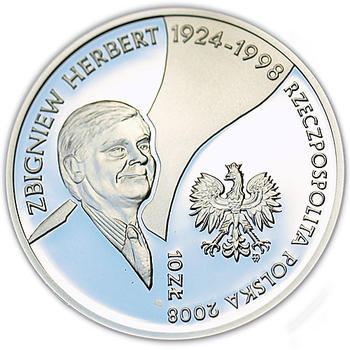 2008 Zbigniew Herbert Ag Proof - 1
