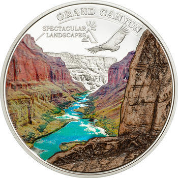 2014 Cook Island - Spectacular Landscapes - Grand Canyon - Ag Proof - 1