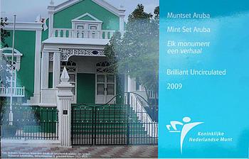 Mintset Aruba 9,40 Fl 2009 B.U. Cu/Ni - 1