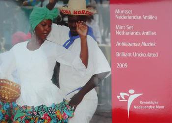 Mintset Netherlands Antile 9,41 NLG 2009 B.U. Cu/Ni - 1
