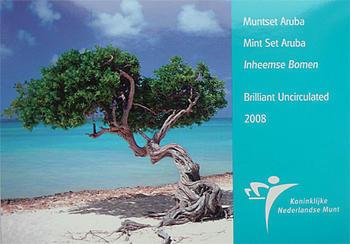 Mintset Aruba 3.95 Fl 2008 B.U. Cu/Ni - 1