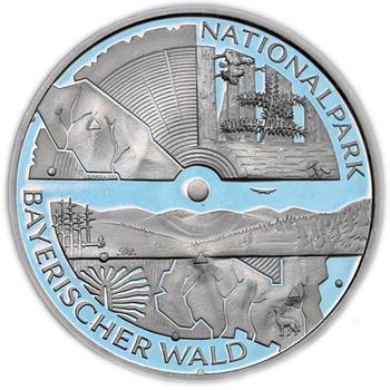 2005 Bayerischer Wald Silver Proof  - 1