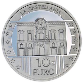 The Castellania Silver Proof 10 Eur Malta 2009 - 1