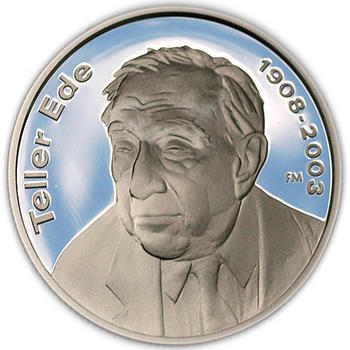 Edward Teller Ag 5000 Ft 2008 Proof - 1