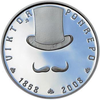 Mince ČNB - 2008 - Proof - 150. výročí narození Viktor Ponrepo - 1