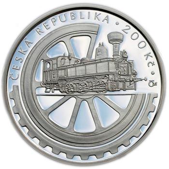 Mince ČNB - 2008 Proof - 100. výročí Založení Národního technického muzea - 1