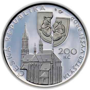 Mince ČNB - 2011 b.k. - 200 Kč  Petr Vok z Rožmberka - 1