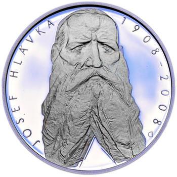 Mince ČNB - 2008 - Proof - 100. výročí  úmrtí Josefa Hlávky - 1