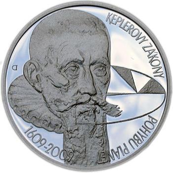 Mince ČNB - 2009 b.k. - 200 Kč 400 let Keplerovy zákony - 1