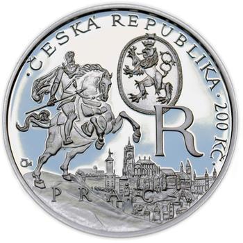 Mince ČNB - 2012 b.k. - 200 Kč  Rudolf II. - 1
