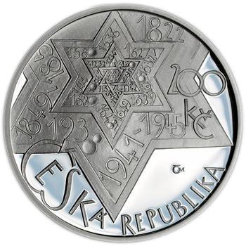 Mince ČNB - 2009 Proof - 200 Kč 400 let úmrtí Rabí Jehuda Löw - 1