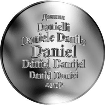 Česká jména - Daniel - stříbrná medaile - 1