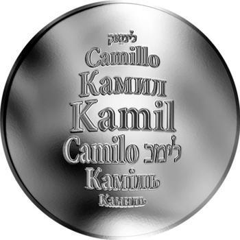 Česká jména - Kamil - stříbrná medaile - 1