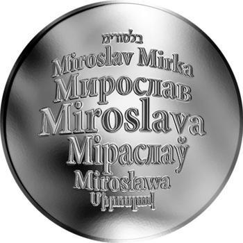 Česká jména - Miroslava - stříbrná medaile - 1