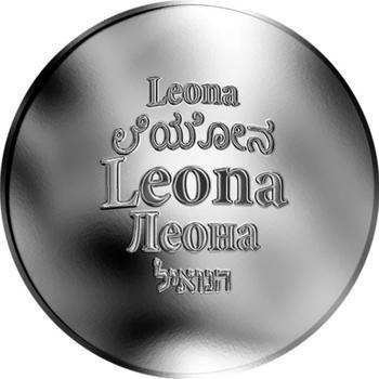 Česká jména - Leona - stříbrná medaile - 1