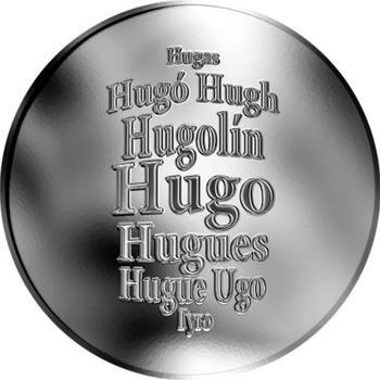 Česká jména - Hugo - stříbrná medaile - 1