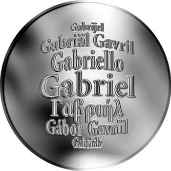Česká jména - Gabriel - stříbrná medaile - 1