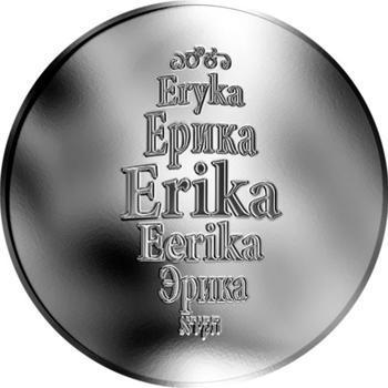 Česká jména - Erika - stříbrná medaile - 1