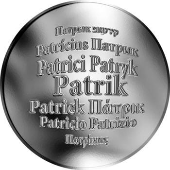 Česká jména - Patrik - stříbrná medaile - 1
