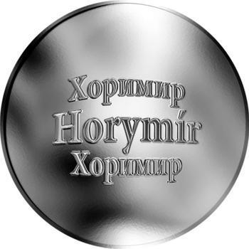 Česká jména - Horymír - stříbrná medaile - 1