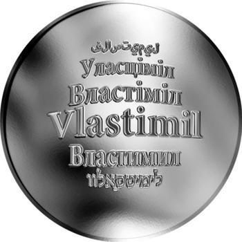 Česká jména - Vlastimil - stříbrná medaile - 1