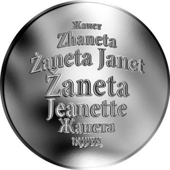 Česká jména - Žaneta - stříbrná medaile - 1