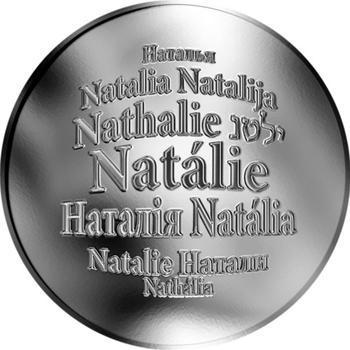 Česká jména - Natálie - stříbrná medaile - 1