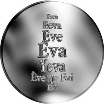 Česká jména - Eva - stříbrná medaile - 1