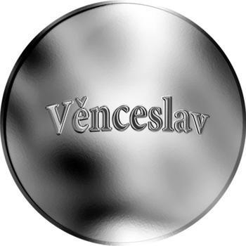 Česká jména - Věnceslav - stříbrná medaile - 1