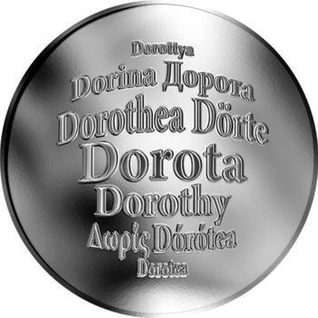 Česká jména - Dorota - stříbrná medaile - 1