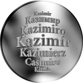 Česká jména - Kazimír - stříbrná medaile - 1