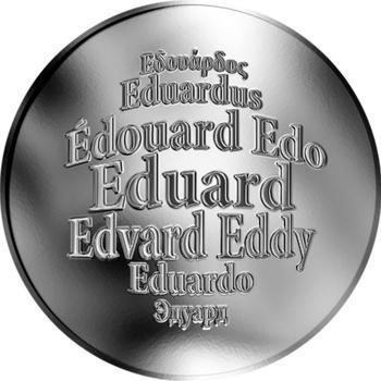 Česká jména - Eduard - stříbrná medaile - 1