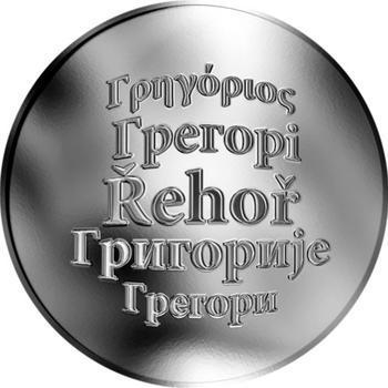 Česká jména - Řehoř - stříbrná medaile - 1