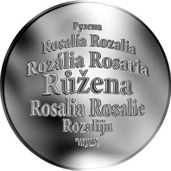 Česká jména - Růžena - stříbrná medaile - 1