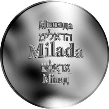 Česká jména - Milada - stříbrná medaile - 1