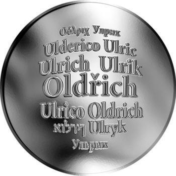 Česká jména - Oldřich - stříbrná medaile - 1