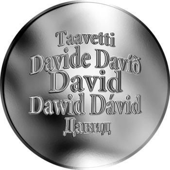 Česká jména - David - stříbrná medaile - 1