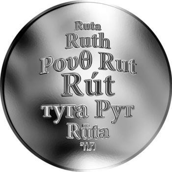 Česká jména - Rút - stříbrná medaile - 1