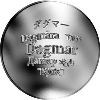 Česká jména - Dagmar - stříbrná medaile - 1