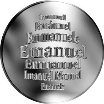 Česká jména - Emanuel - stříbrná medaile - 1